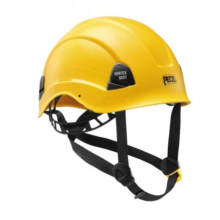 Casque VERTEX BEST Jaune PETZL Game professionnels