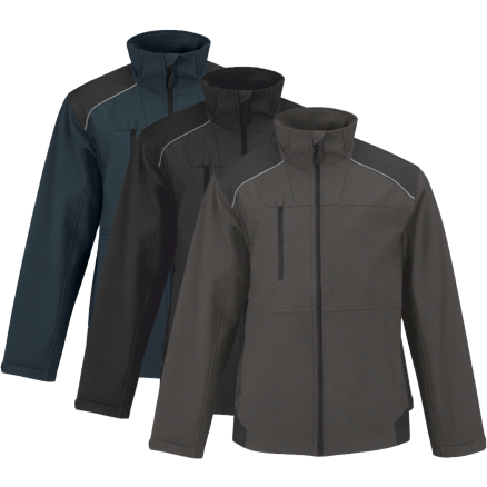 Veste softshell ripstop SHIELD-PRO Coupe vent et Deperlant