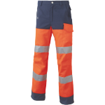 Pantalon Luk-Lite Orange fluo-Marine