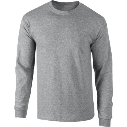 Tee-shirt manches longues ULTRA gris chiné